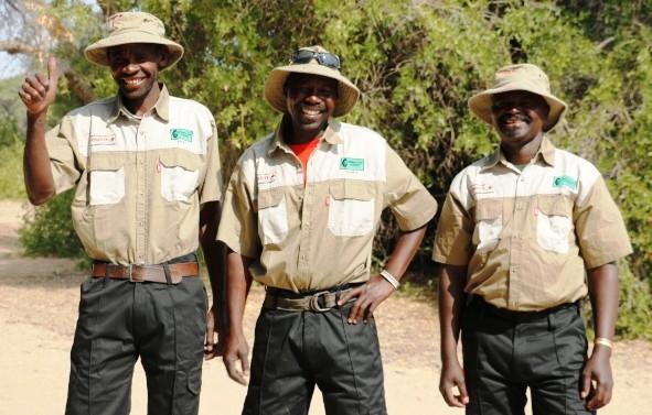 Guides et rangers locaux