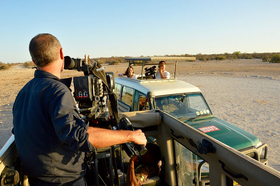 production tv safari namibie