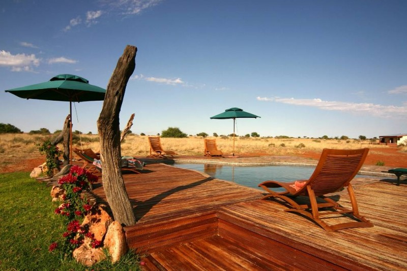 Anib lodge : lodge safari en Namibie